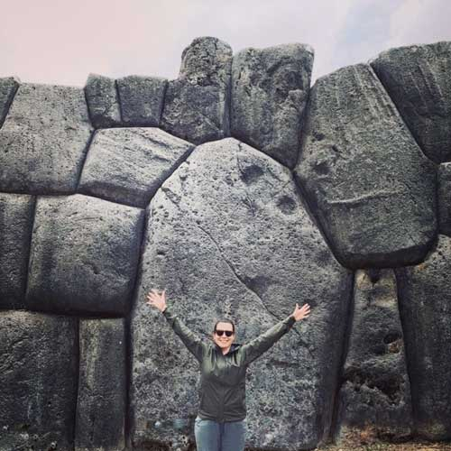 Cécile Ledoyen à Cusco